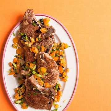 Moroccan Spiced Pork Chops