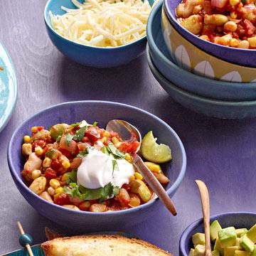 Succotash Veggie Chili