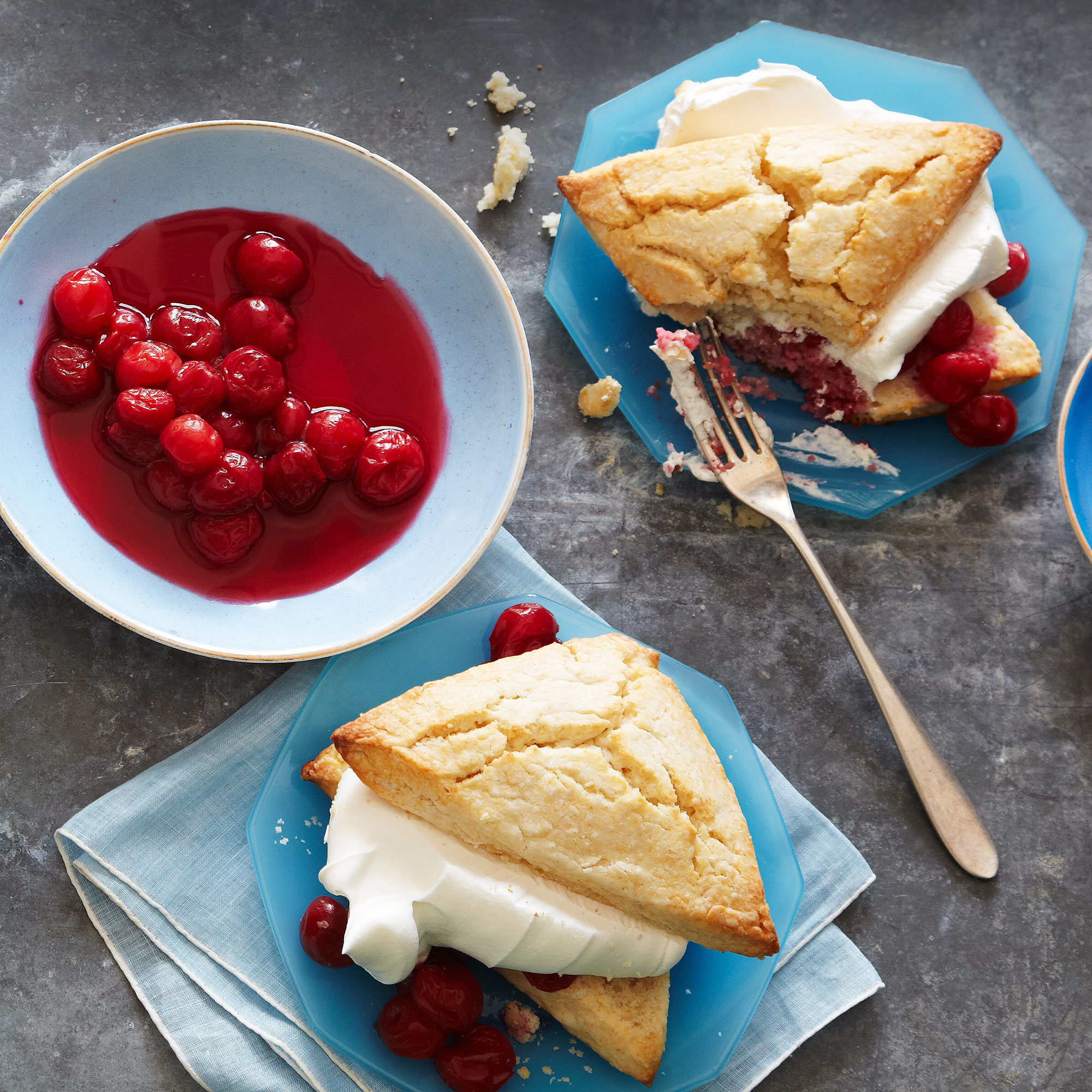 Cherry Shortcakes