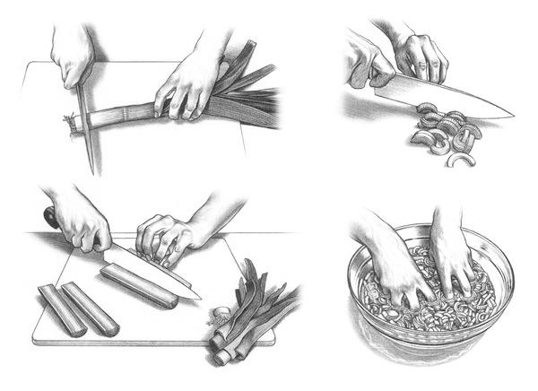 How to Prep a Leek