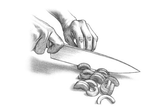 How to Prep a Leek - Step 3