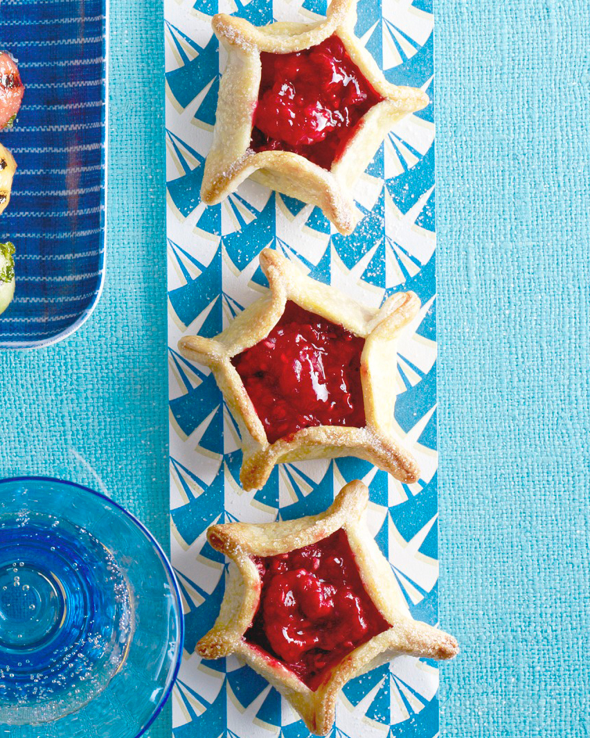 Tiny Raspberry Tarts