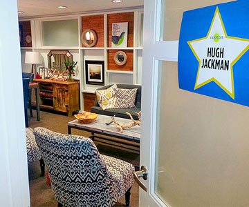 Rachael's VIP Green Room