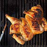Butterflied Chicken with Lime & Ginger