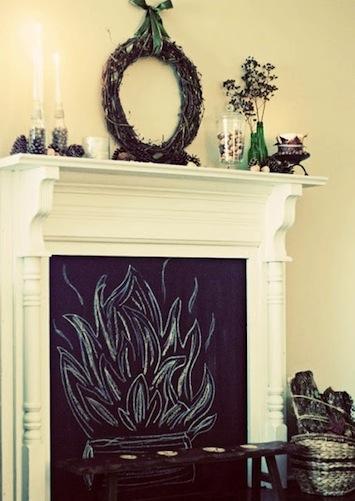 chalkboard fireplace copy