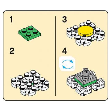 Lego Centerpieces