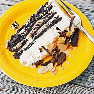 Amaretto Icebox Cake