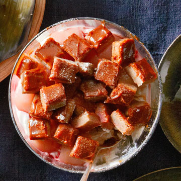 Caramel-Pear Trifle