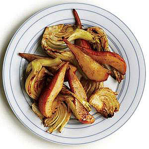 Five-Spice Roast Pear and Fennel