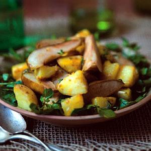 Roasted Pear and Potato Salad