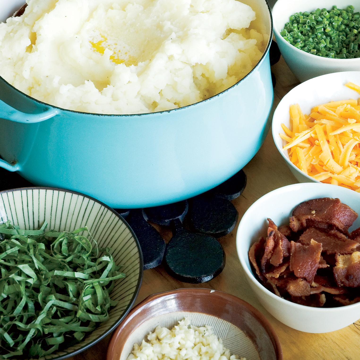 Potato Mash with Mix-Ins