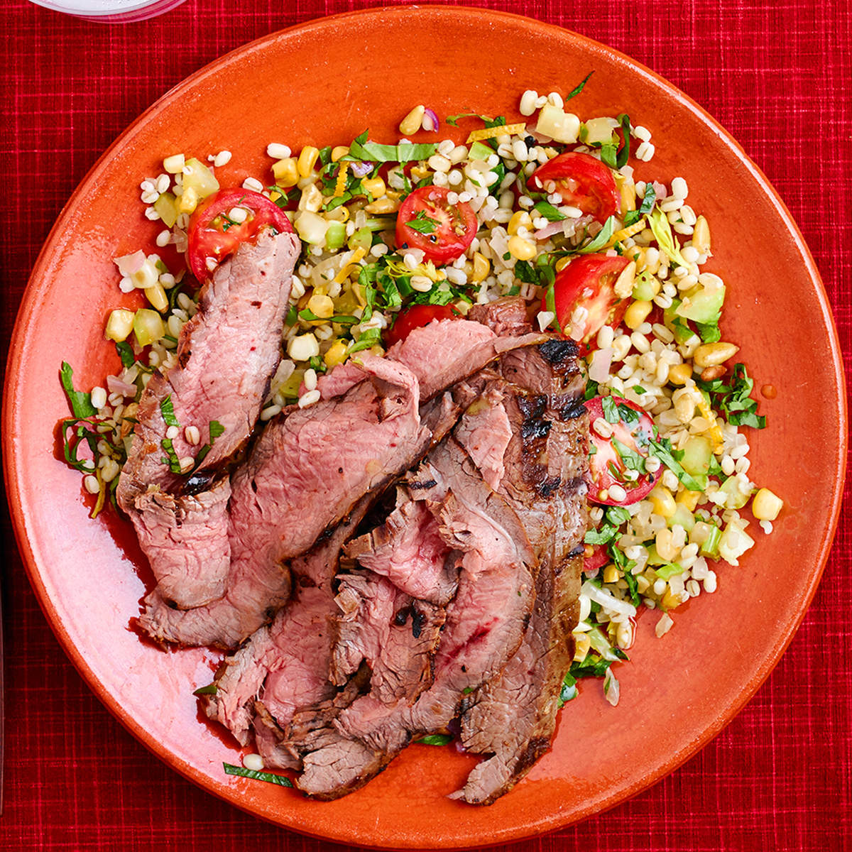 Pearled Barley & Corn Salad