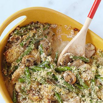 Chicken & Green Bean Casserole