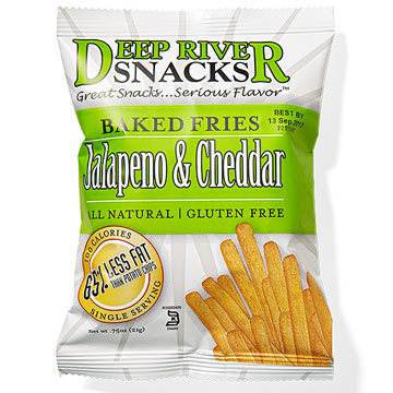 Best Spicy Deep River Snacks Jalapeno & Cheddar Baked Fries