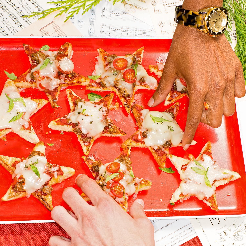 Star of Wonder Mini Pizzas