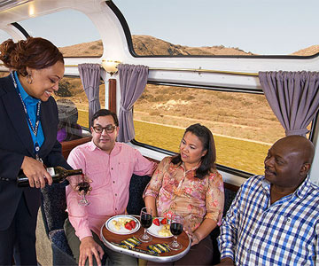What You'll Eat on the Amtrak Coast Starlight