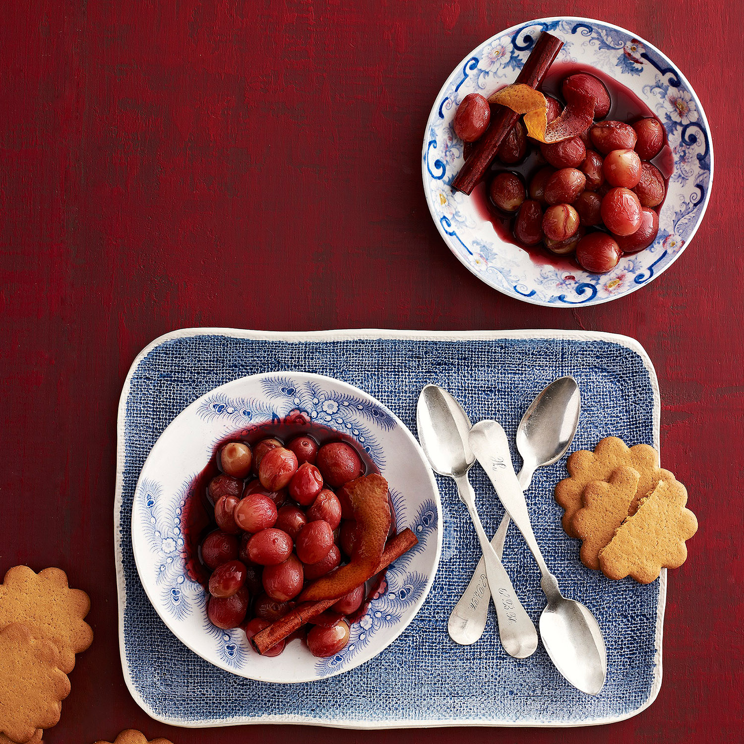 Wintry Spiced Grapes