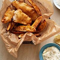 Tilapia 'n' Chips