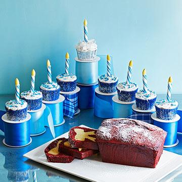 Cupcake Menorah