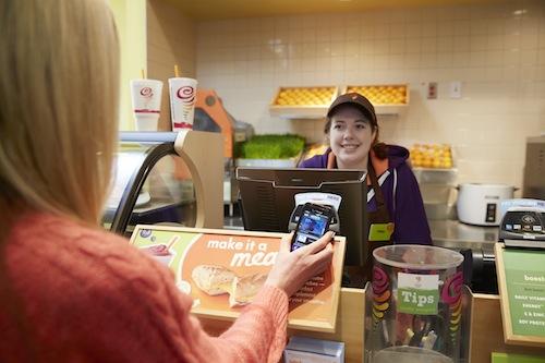 JambaJuice_Customer and cashier at POS