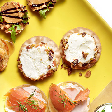 Nutty Goat Cheese Rounds