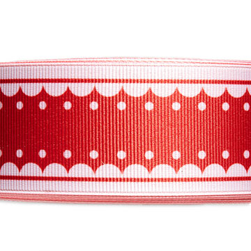 Scalloped Red