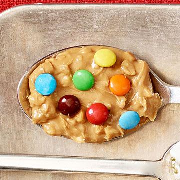 Chunky Peanut Butter & Mini Candy-Coated Chocolates