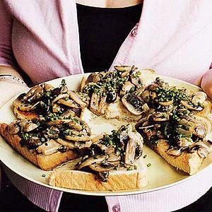 Mamy's Mushrooms on Toast