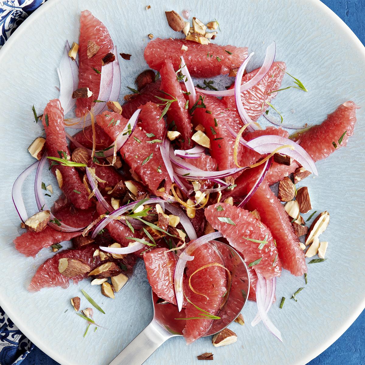 Tarragon Grapefruit Salad