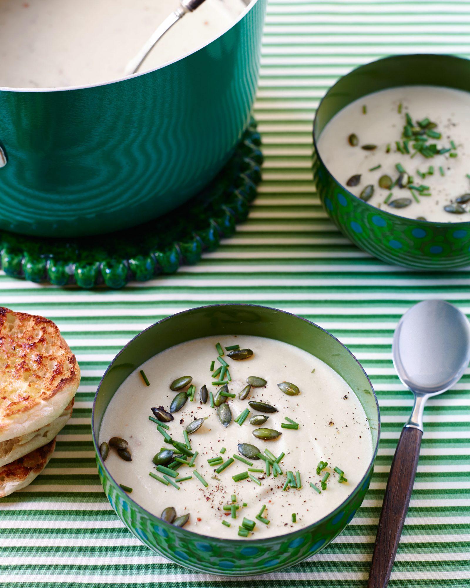 Parsnip & Potato Soup