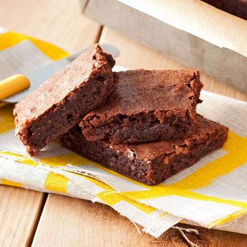 Fast Fudgy Brownies