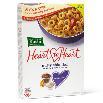 Kashi Heart-to-Heart Nutty Chia Flax Cereal