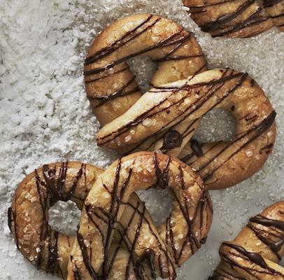 brown sugar pretzels