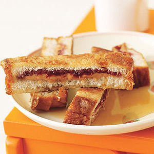 Peanut Butter and Jelly French Toast Sticks