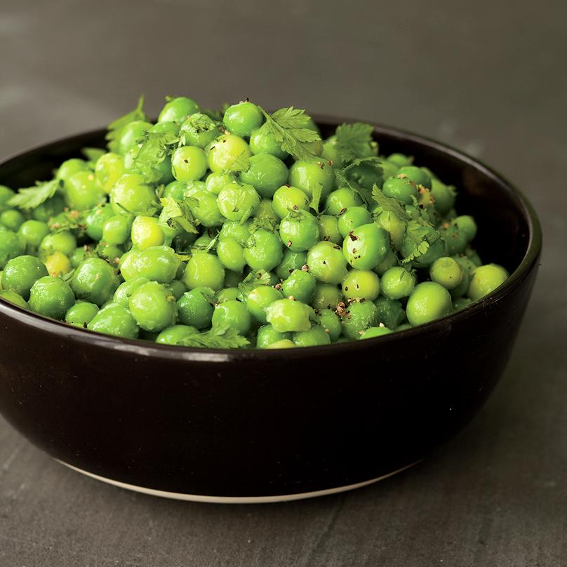 herbed spring peas