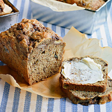 Banana-Flax Bread