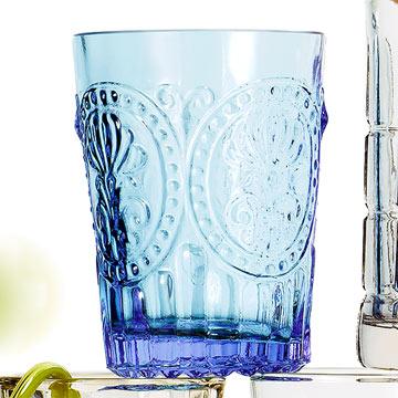 Fleur-de-Lis Glass