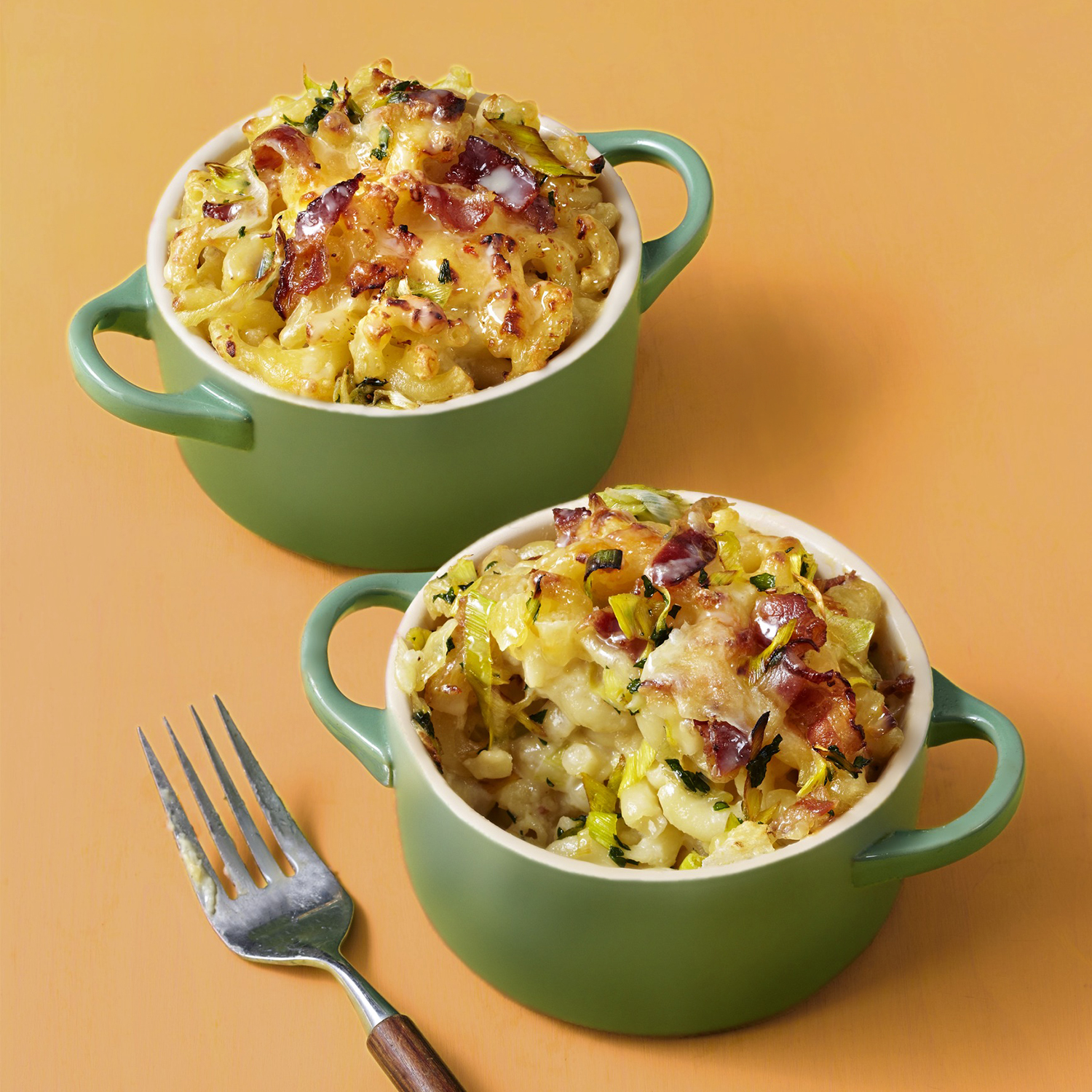 no-boil mac and cheese with bacon