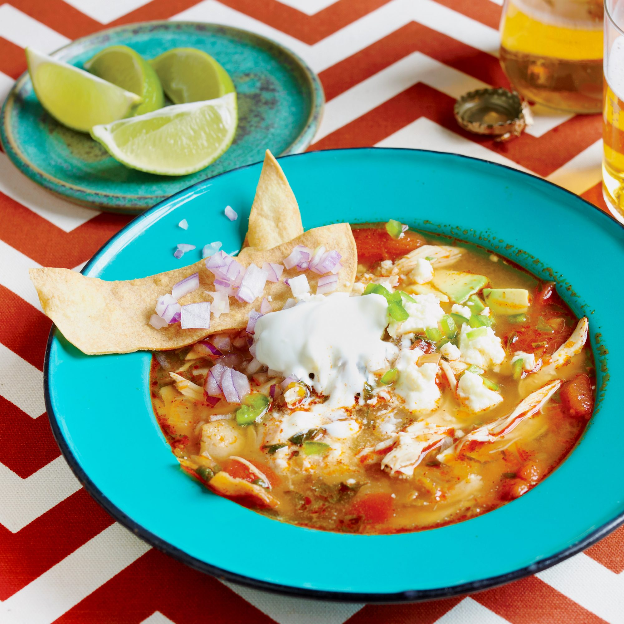 Jane Fox's Famous Tortilla Soup