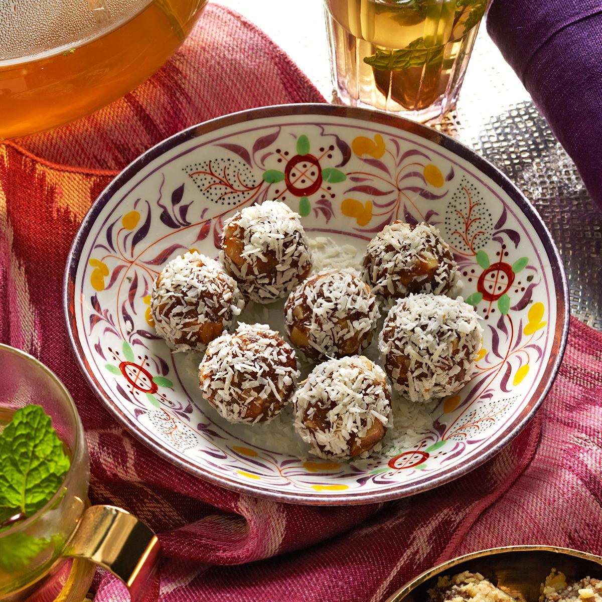Spiced Date-Walnut Balls