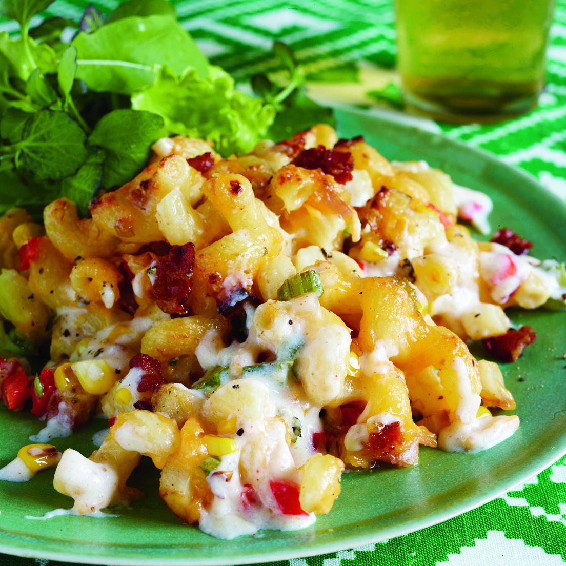 Corn Chowdah Mac n Cheese