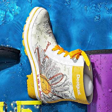 Desigual Rain Boots