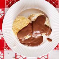 Biscuits & Chocolate Gravy