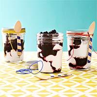 Yogurt & Blueberry Parfaits