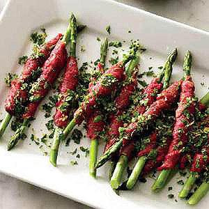 Carpaccio-Wrapped Asparagus