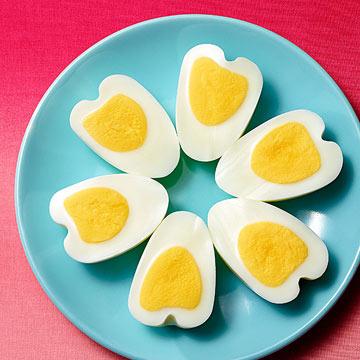 Heart-Shaped Eggs