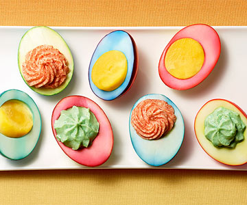 Tricolor Eggs
