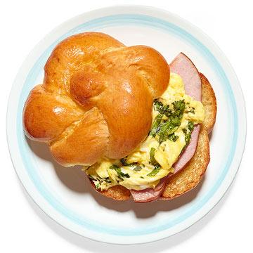 Green Egg & Ham Sandwich
