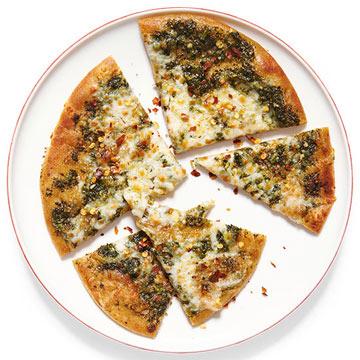 Pesto & Mozzarella Flatbread