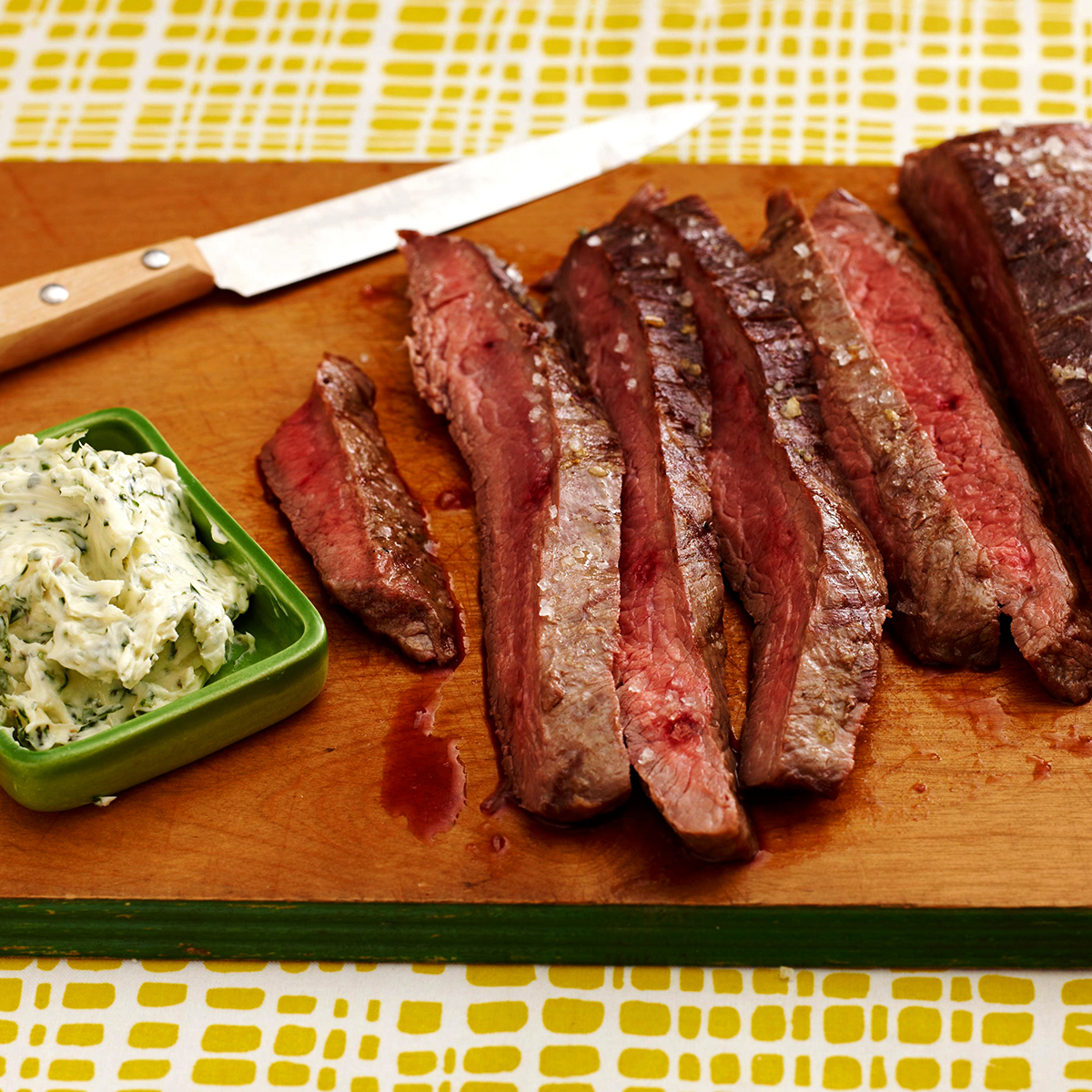 tangy grilled steak
